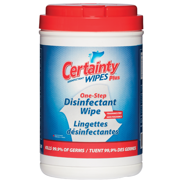 Certainty™ Plus Disinfectant Wipes (200 Count)
