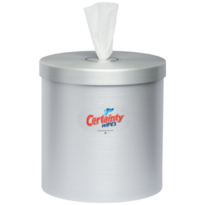 Stainless Counter Top Dispenser - Certainty Brands