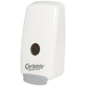 Gel Sanitizer Dispenser White - Certainty Brands